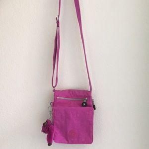 purple Kipling purse